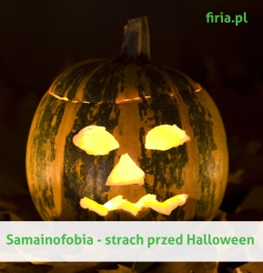 Samainofobia to strach przed Halloween